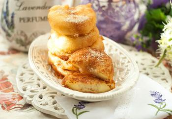 Десерт из яблок и овсянки