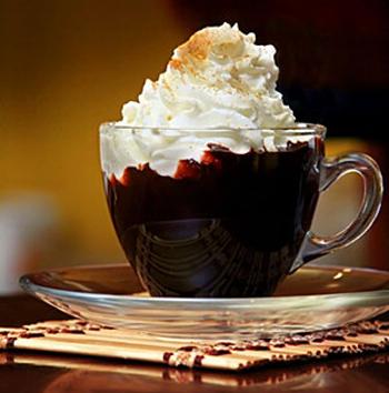 Быстрый десерт Шоколадный крем