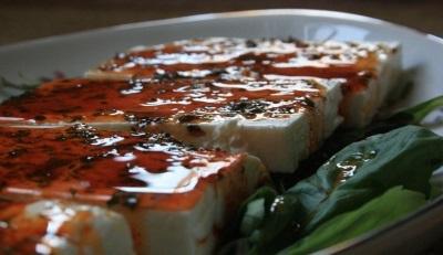 Сыр фета со специями